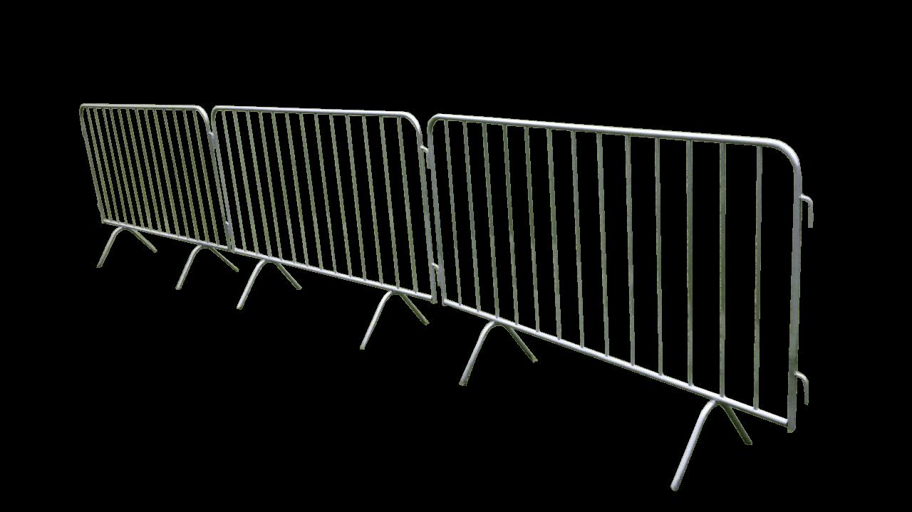 grade de isolamento de publico para eventos
