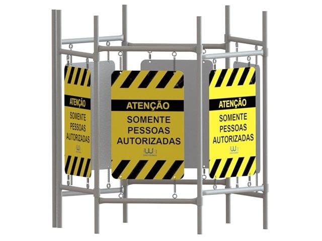 Barreira Proteção Perimetral para Calçada